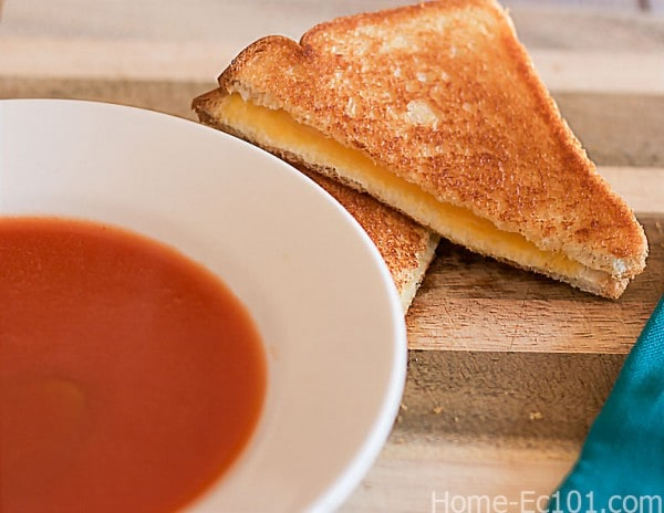 How to make grilled cheese.
