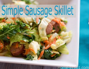Smoked Sausage and Cabbage Skillet – A Basic Cooking Lesson