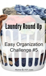 Organizational Challenge Week #5 – The Great Laundry Round Up