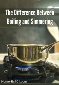 The Difference Between Boiling and Simmering