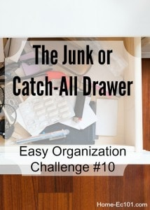 Organizational Sunday #10: The Junk or Catch-All Drawer