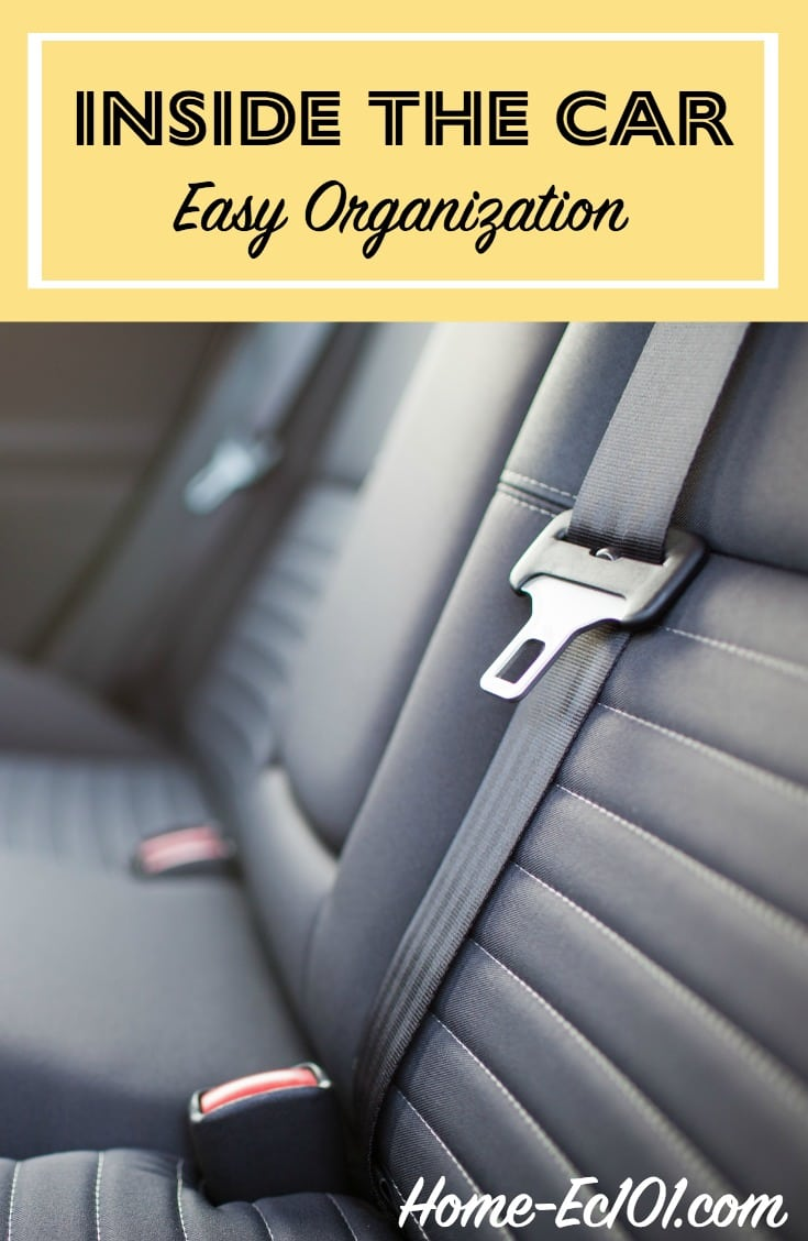 Cleaning Cloth Car Seats >> Inside The Car | Weekly Organizational Challenge #26 ...