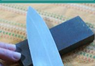 This tutorial is for the beginner, with beginner knife sharpening equipment. It's important to have sharp knives in the kitchen.